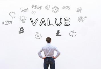 el valor de las criptomonedas