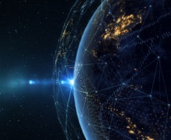 blockchain space