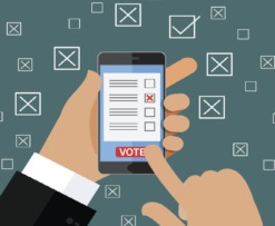 voto em blockchain